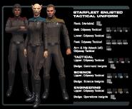 SF enlisted tactical uniform