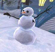 Starfleet snowman