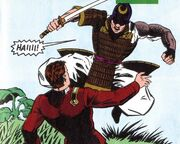 Samurai DC Comics