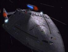 USS Prometheus front