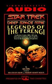 Legends of the Ferengi audiobook cover