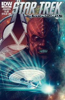 IDW Star Trek, Issue 25