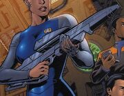 Starfleet phaser rifle 2370s Wildstorm