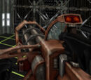 Tetryon Gatling gun