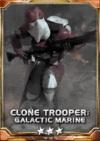 Clone Trooper Galactic Marine 3S