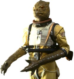 Bossk arms