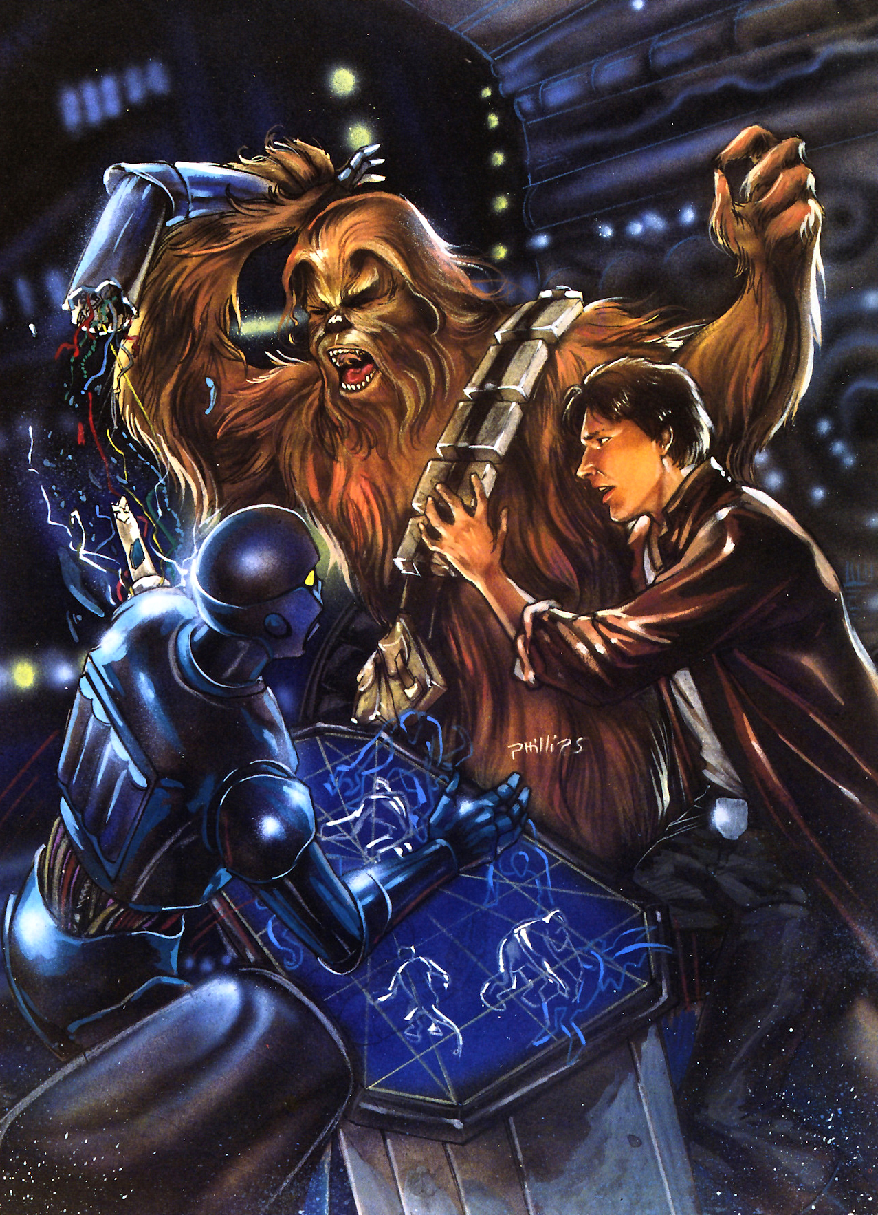 Think, that Adult art wookiee