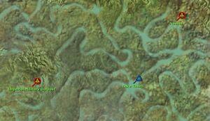 Lake Thorn map