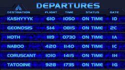 Star-Tours Departures English short