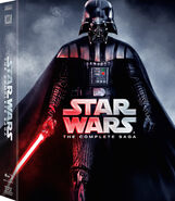 Star Wars The Complete Saga Blu-ray re-release
