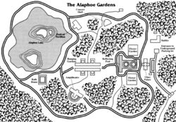 Alaphoe Gardens map