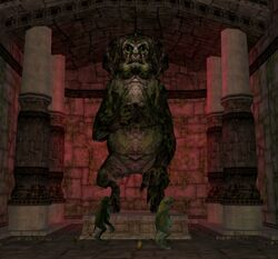 Woolamander statue