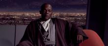 Mace Windu Jedi Council TPM