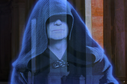 Sidious hologram