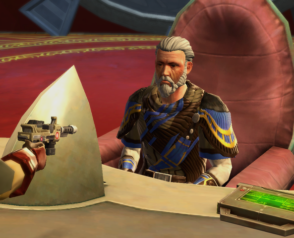 File:Grand Champion of the Great Hunt about to shoot Janarus.png