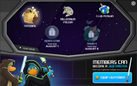 STAR WARS TAKEOVER PARTY INTERFACE