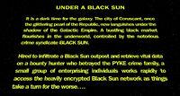 Unde a Black Sun crawl