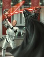 V sparring C clone
