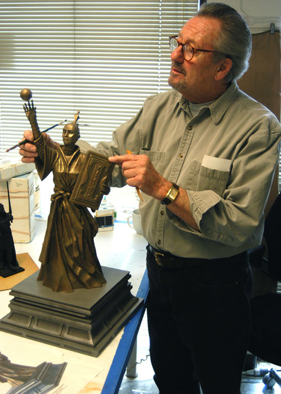 Richard Miller - my sculpture teacher at Lucasfilm