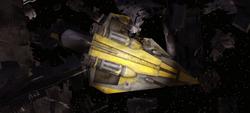 Anakins Delta-7B wreckage