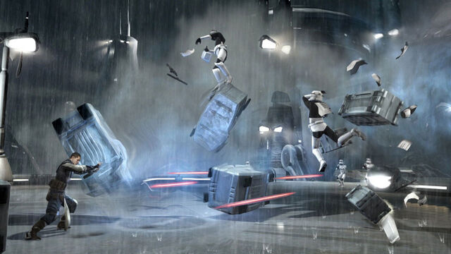 File:Starkiller push stormtroopers.jpg