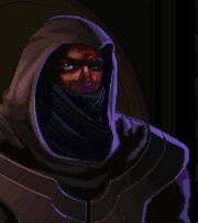 Cloaked mage