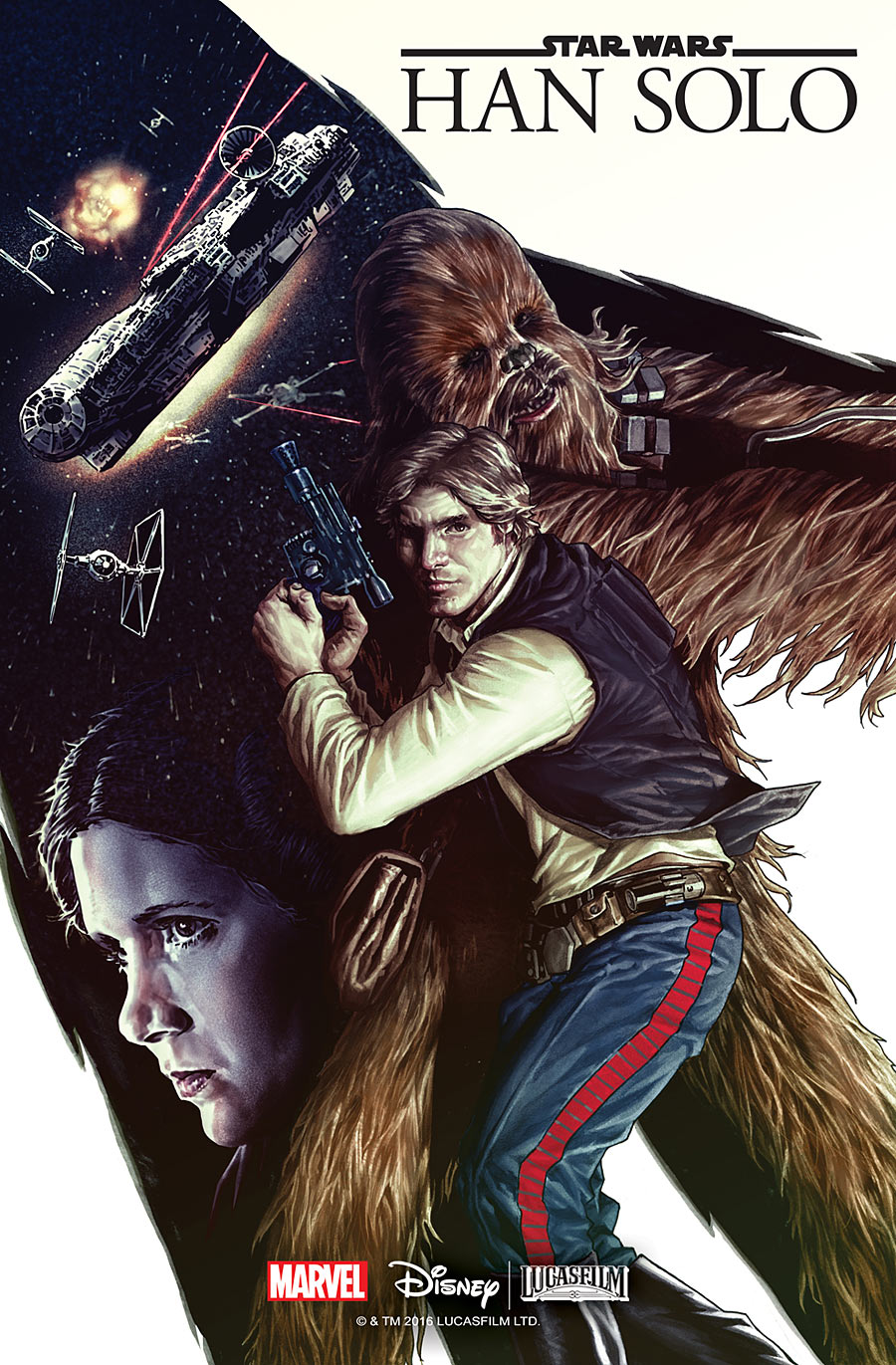 Image result for han solo graphic novel book cover