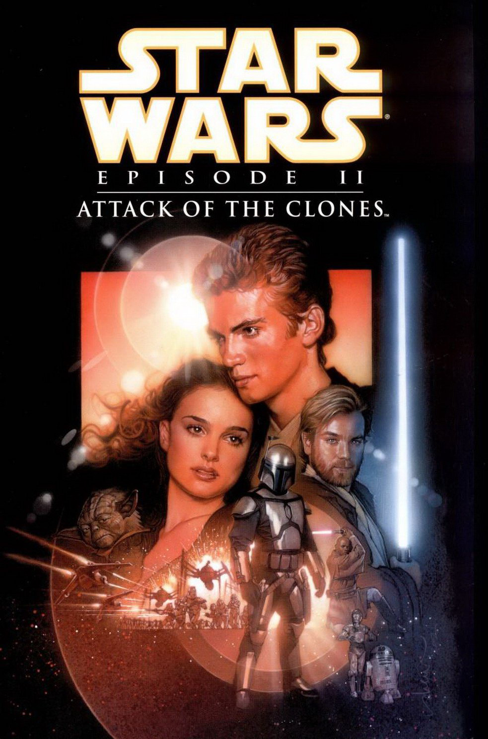 「STAR WARS EPISODE II: ATTACK OF THE CLONES」の画像検索結果