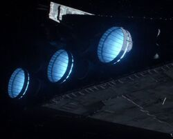 Destroyer Ion Engines