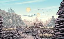 Tusken burial site