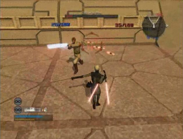 File:Asajj throwing Starblades to Obi-Wan.jpg