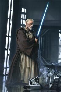 Obi-Wan TCG by Vanderstelt