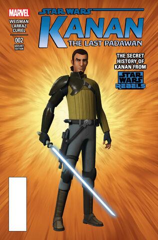 File:Star Wars Kanan Vol 1 2 Rebels Variant.jpg