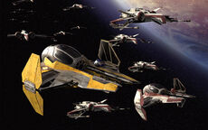 Fighters in formation