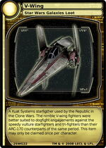 V-wing SoC loot card