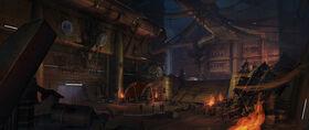 Coruscant underground