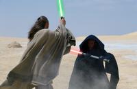 Maul duels Jinn