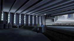 Manaan Docking Bay