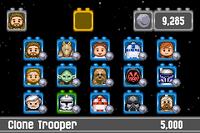 Lego Star Wars GBA - characters