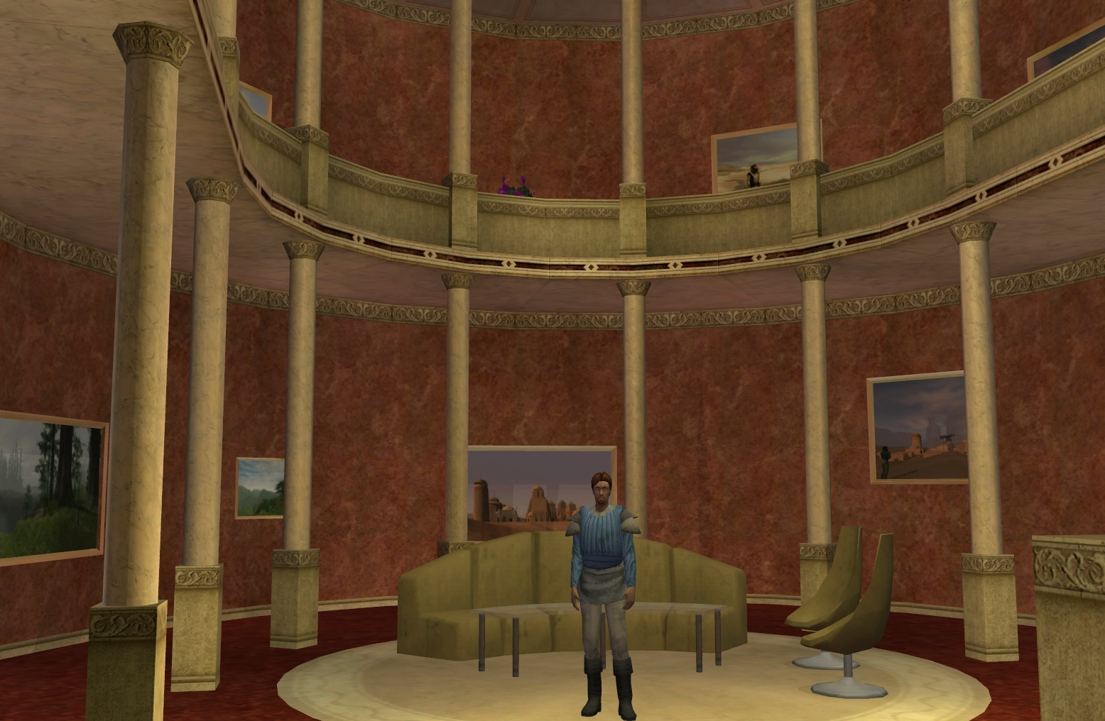 Small naboo house style 1 - House interior
