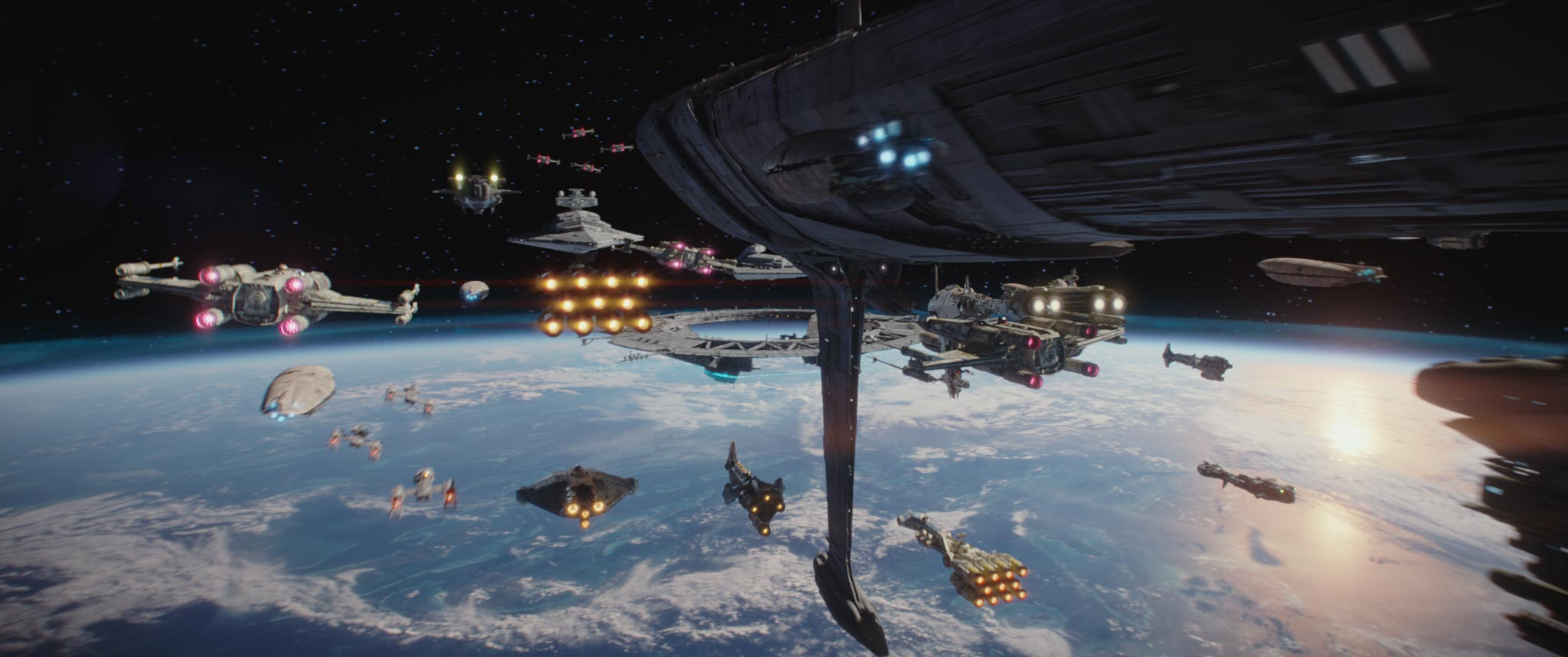 Image result for scarif battle