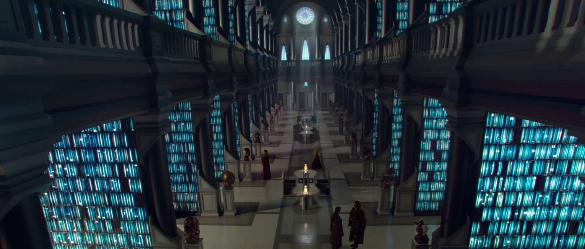 Jedi library from Star Wars