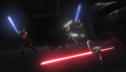 Jedi vs Eight Brother