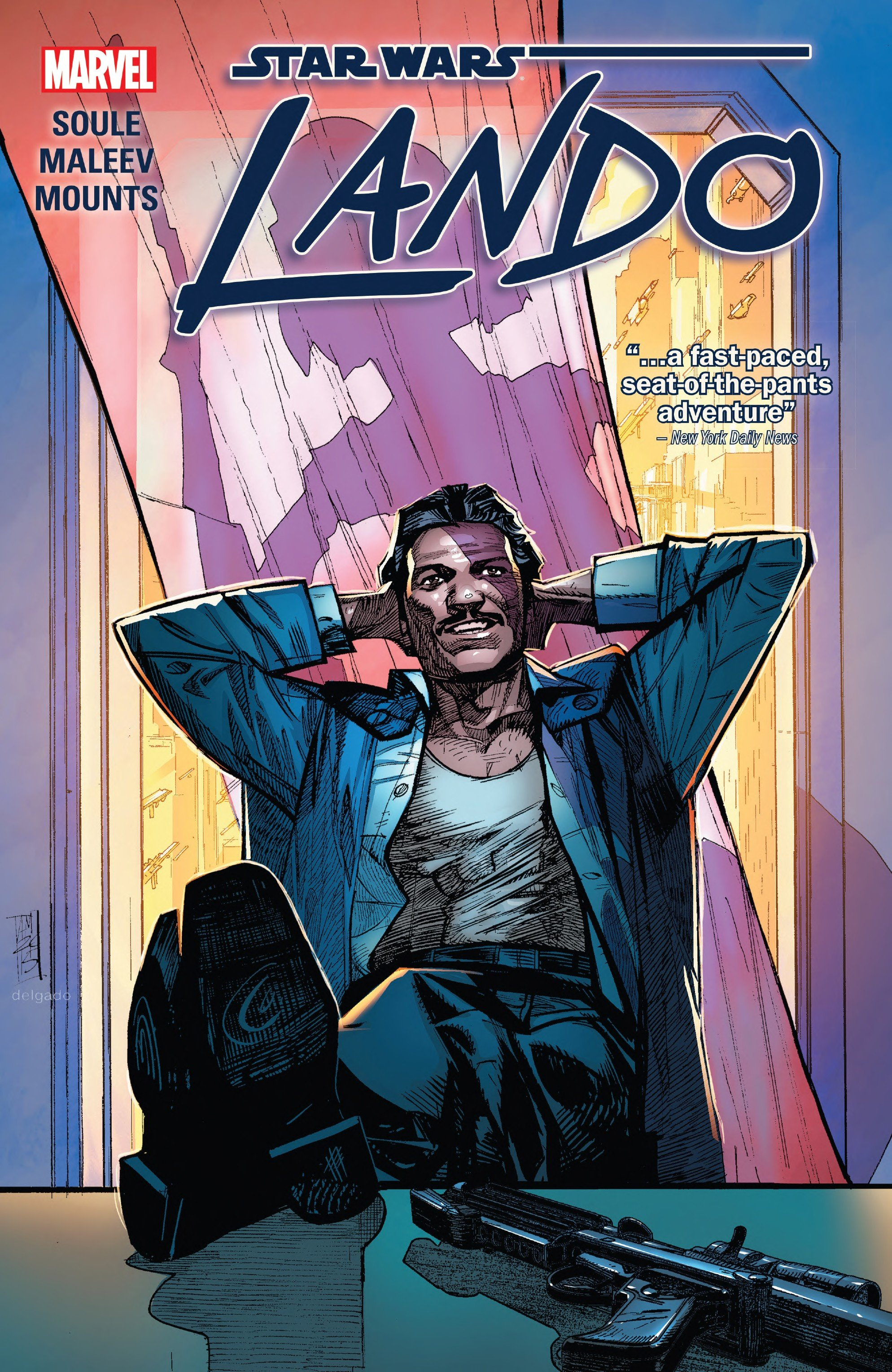 Image result for star wars lando comic