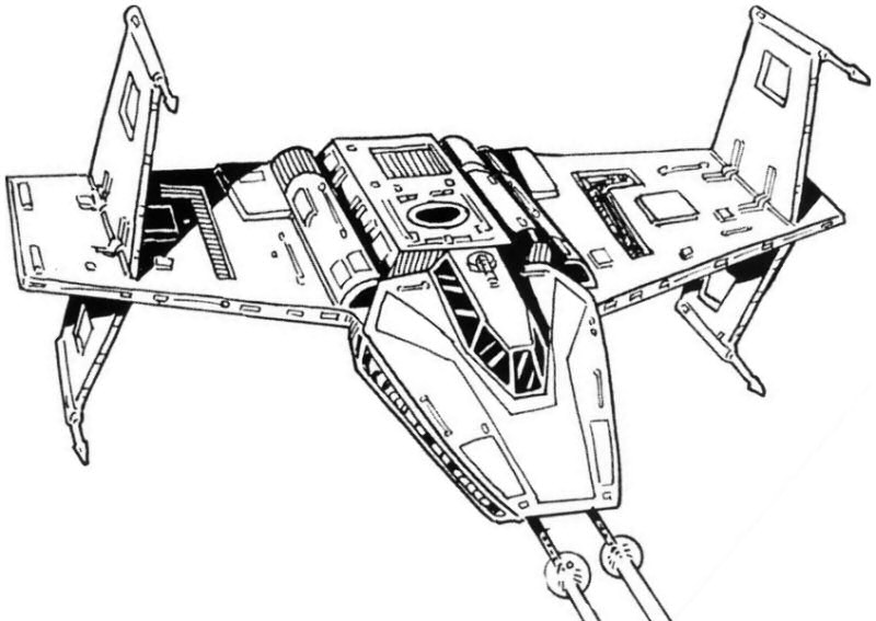 X Wing Line Drawing : Image gallery line drawings of starfighter