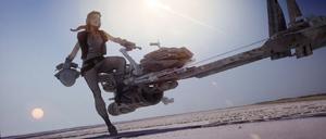 Rey Kira bike concept art