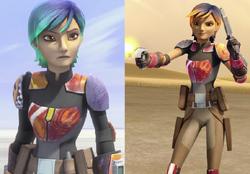Sabine new look