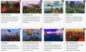 Second Life Steampunk