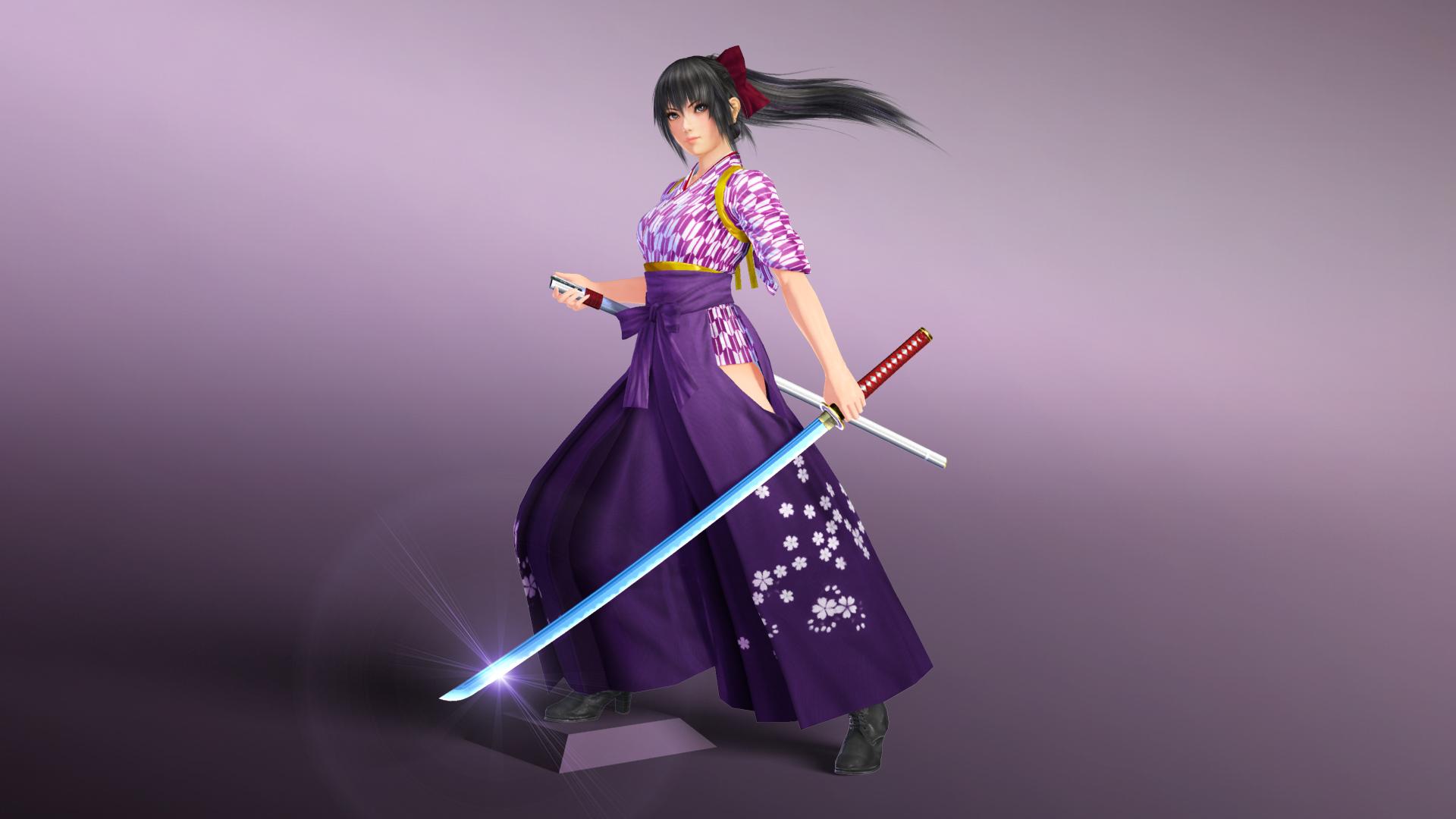 Mitsurugi Kamui Hikae - Brave Maiden | Steam Trading Cards ...