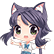 A Wild Catgirl Appears! Emoticon CatStarla.png